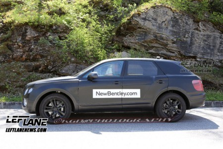 Lộ SUV siêu sang của Bentley trên đường thử - ảnh 12