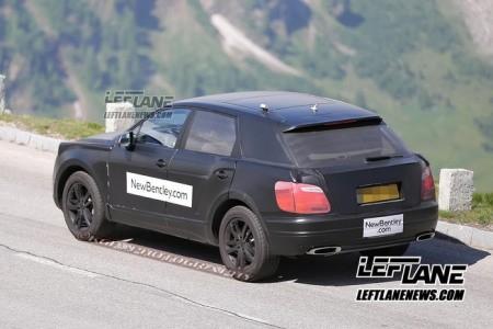 Lộ SUV siêu sang của Bentley trên đường thử - ảnh 4