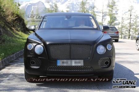 Lộ SUV siêu sang của Bentley trên đường thử - ảnh 5
