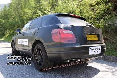 Lộ SUV siêu sang của Bentley trên đường thử - ảnh 9
