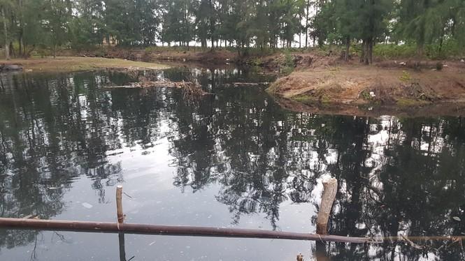 Hồ tôm xả thải gây ô nhiễm nghiêm trọng, người dân trình đơn kêu cứu - ảnh 4