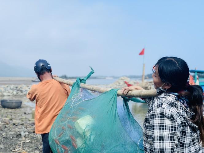 Được mùa cá cháo, ngư dân Hà Tĩnh thu tiền triệu mỗi chuyến ra khơi - ảnh 8