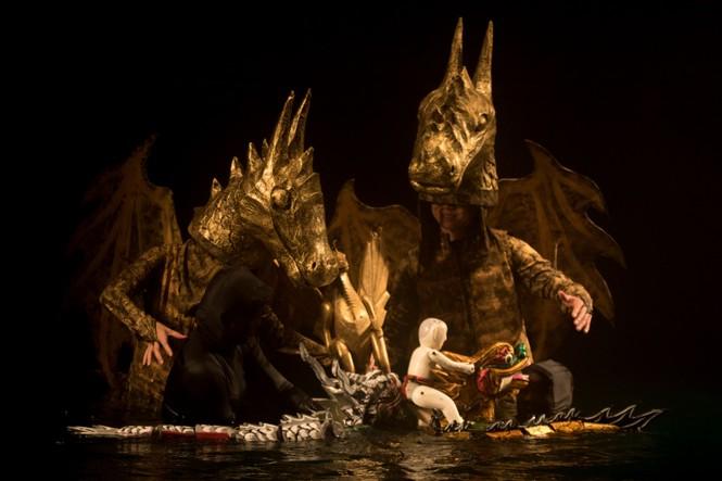 'Mơ rồng' thử nghiệm và thách thức rối nước truyền thống - ảnh 1