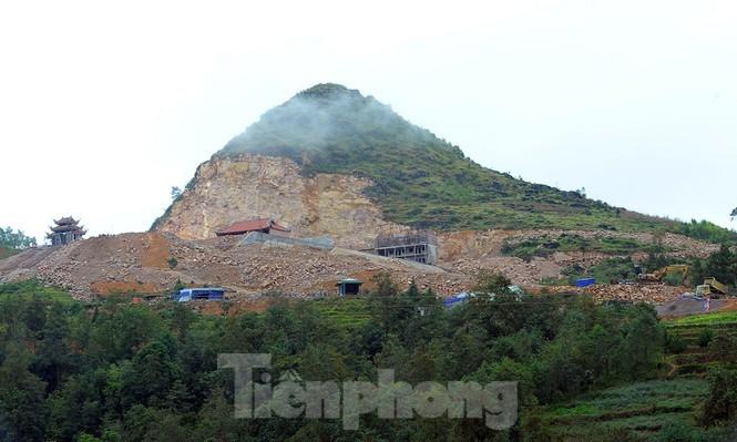 Hà Giang: Khẩn trương xử lý công trình Mã Pì Lèng, dự án tâm linh Lũng Cú - ảnh 2