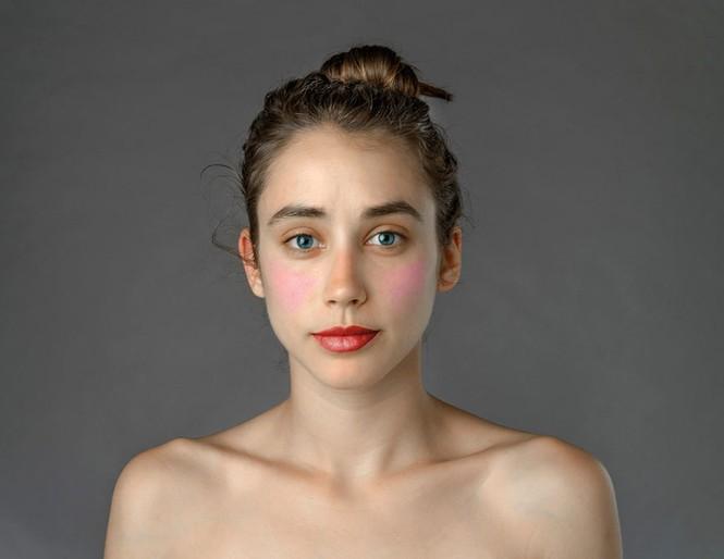 Ngắm nhan sắc phụ nữ các nước qua cùng một gương mặt - ảnh 3