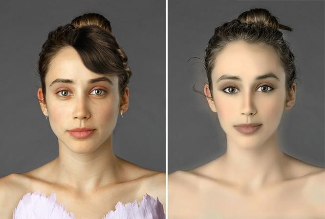 Ngắm nhan sắc phụ nữ các nước qua cùng một gương mặt - ảnh 4