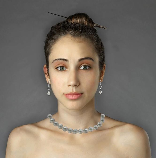 Ngắm nhan sắc phụ nữ các nước qua cùng một gương mặt - ảnh 5