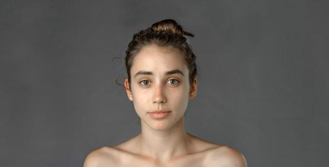 Ngắm nhan sắc phụ nữ các nước qua cùng một gương mặt - ảnh 1