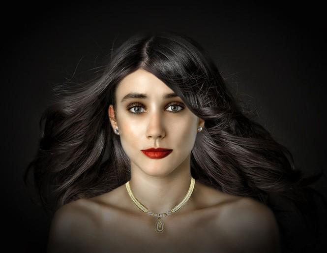 Ngắm nhan sắc phụ nữ các nước qua cùng một gương mặt - ảnh 11