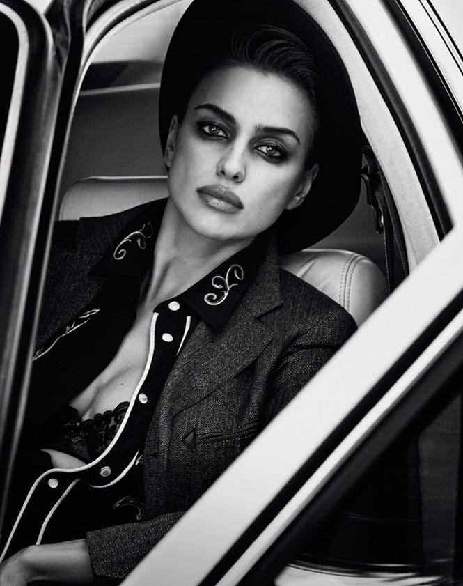 Mỹ nhân Nga Irina Shayk khác lạ với style quý ông - ảnh 11
