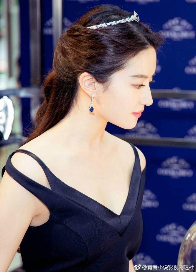 Lưu Diệc Phi 'đốn tim' fan bởi nhan sắc trong veo nền nã - ảnh 12