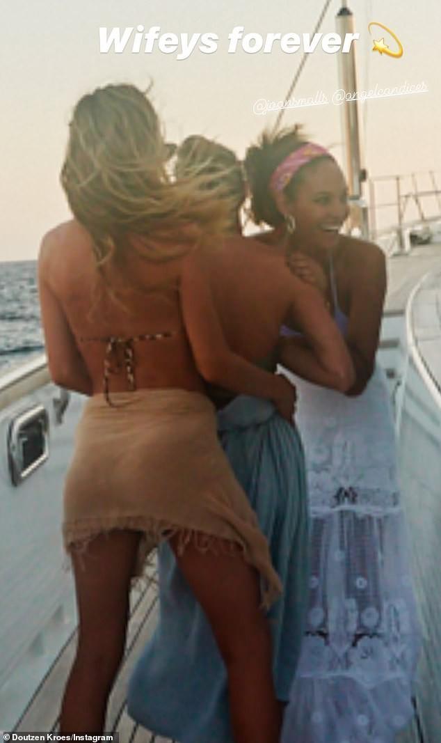 Candice Swanepoel mặc áo mỏng tang xuyên thấu khoe dáng tuyệt mỹ - ảnh 6