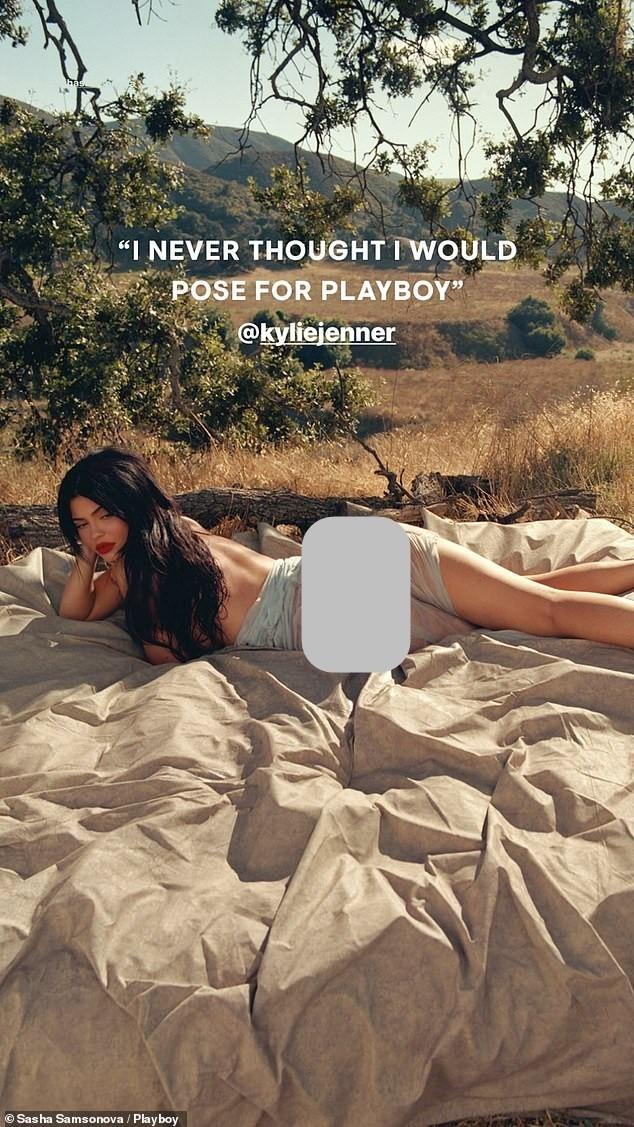 Em út tỉ phú nhà Kardashian nóng bỏng trên Playboy - ảnh 9