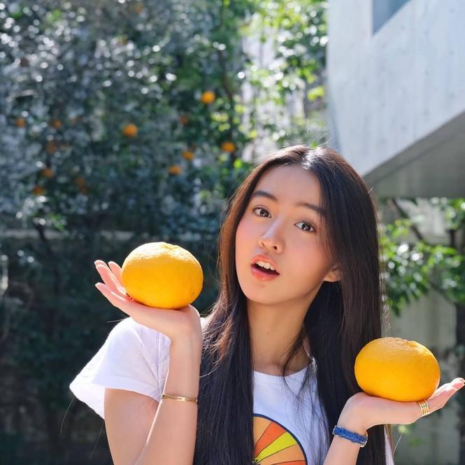 Vẻ đẹp trong veo như nàng thơ của người mẫu 17 tuổi Nhật Bản - ảnh 14