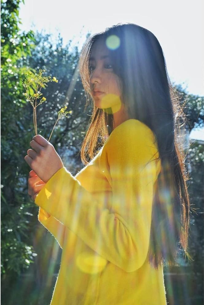 Vẻ đẹp trong veo như nàng thơ của người mẫu 17 tuổi Nhật Bản - ảnh 9
