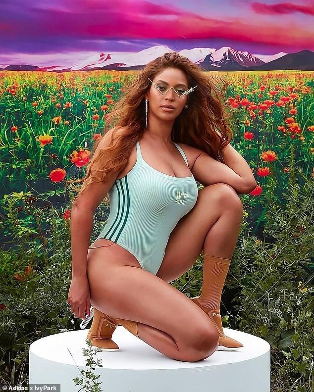 Beyonce rực lửa với đường cong đẫy đà - ảnh 1