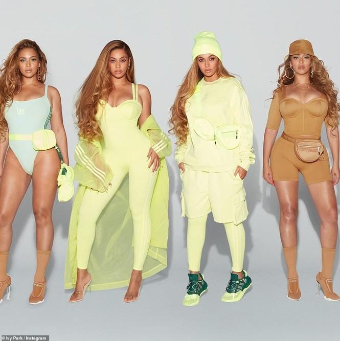 Beyonce rực lửa với đường cong đẫy đà - ảnh 3