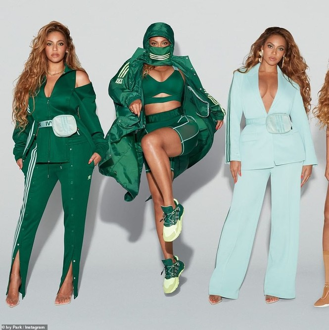 Beyonce rực lửa với đường cong đẫy đà - ảnh 5