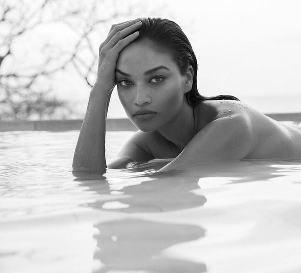 Ánh nude đen trắng đậm chất nghệ thuật của người mẫu Shanina Shaik - ảnh 3