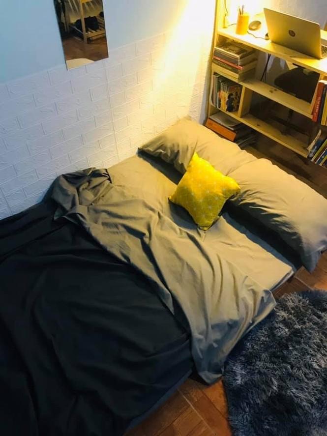 Chàng trai tự tay 'hô biến' phòng trọ 9m2 thành căn studio đẹp bất ngờ - ảnh 7