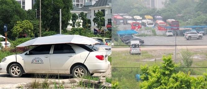 Cận cảnh 7 sân dạy lái xe 'chui' hoạt động công khai giữa Hà Nội nhiều năm - ảnh 2