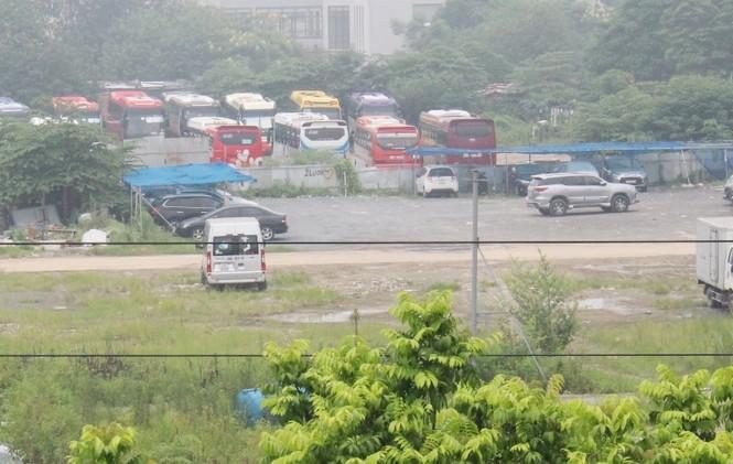 Cận cảnh 7 sân dạy lái xe 'chui' hoạt động công khai giữa Hà Nội nhiều năm - ảnh 11