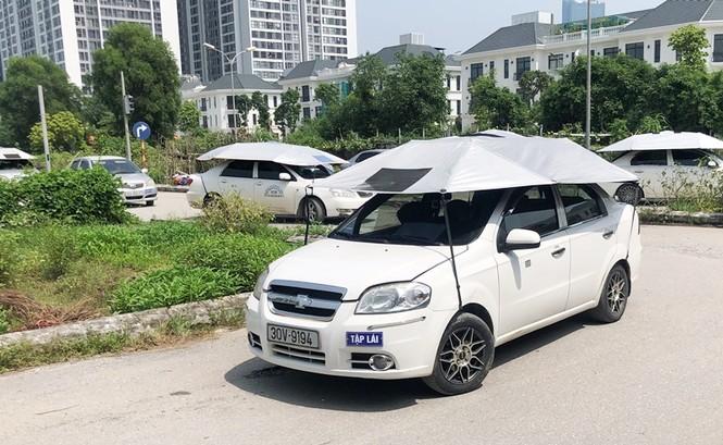 Cận cảnh 7 sân dạy lái xe 'chui' hoạt động công khai giữa Hà Nội nhiều năm - ảnh 3