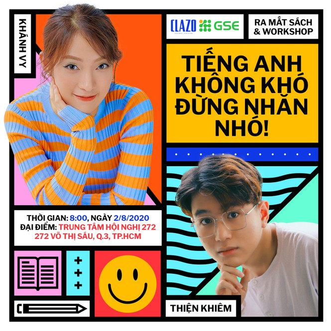 Hotgirl Khánh Vy, hotboy Thiện Khiêm ra mắt sách, gặp fan TP.HCM trước ngày thi THPT 2020 - ảnh 1