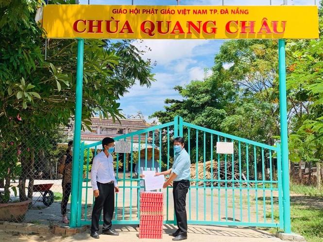 Ca sỹ Mỹ Tâm chung sức cùng người dân Đà Nẵng chống dịch COVID-19 - ảnh 2
