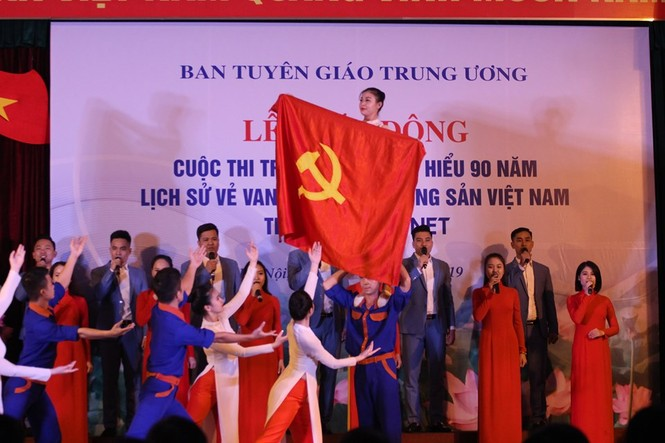 Thi trắc nghiệm tìm hiểu 90 năm lịch sử vẻ vang của Đảng trên mạng xã hội VCNET - ảnh 3