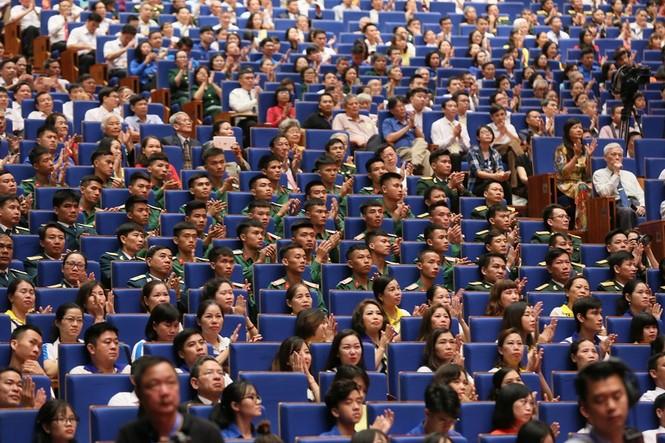 Lễ kỷ niệm 50 năm thực hiện Di chúc của Chủ tịch Hồ Chí Minh - ảnh 4