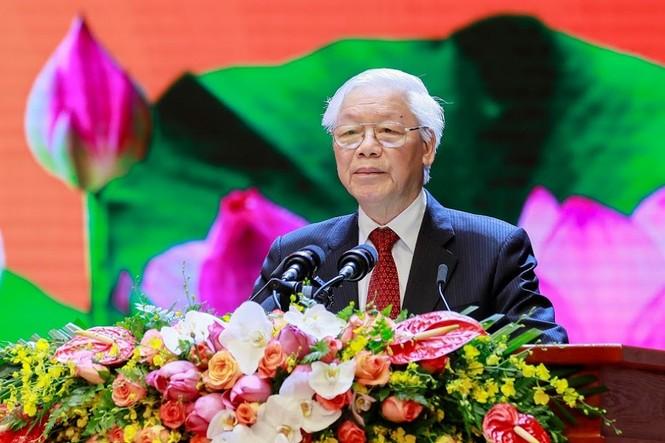 Lễ kỷ niệm 50 năm thực hiện Di chúc của Chủ tịch Hồ Chí Minh - ảnh 1