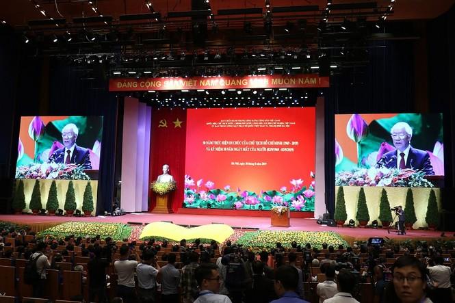 Lễ kỷ niệm 50 năm thực hiện Di chúc của Chủ tịch Hồ Chí Minh - ảnh 3