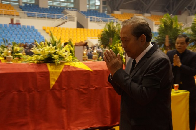 Rưng rưng lễ tang 22 chiến sĩ hy sinh tại Quảng Trị - ảnh 23