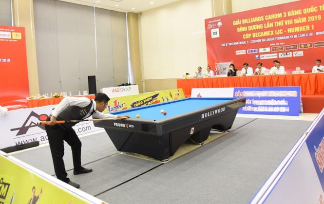 Nước tăng lực Number 1 đồng hành cùng Giải Billiards Carom 3 băng quốc tế - ảnh 2