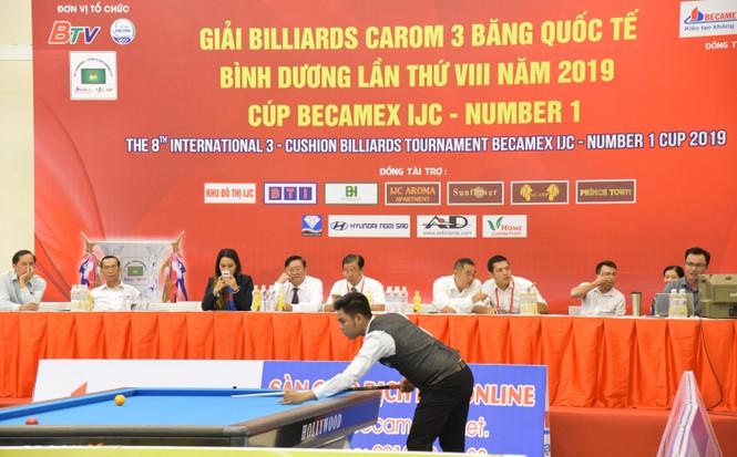 Nước tăng lực Number 1 đồng hành cùng Giải Billiards Carom 3 băng quốc tế - ảnh 1