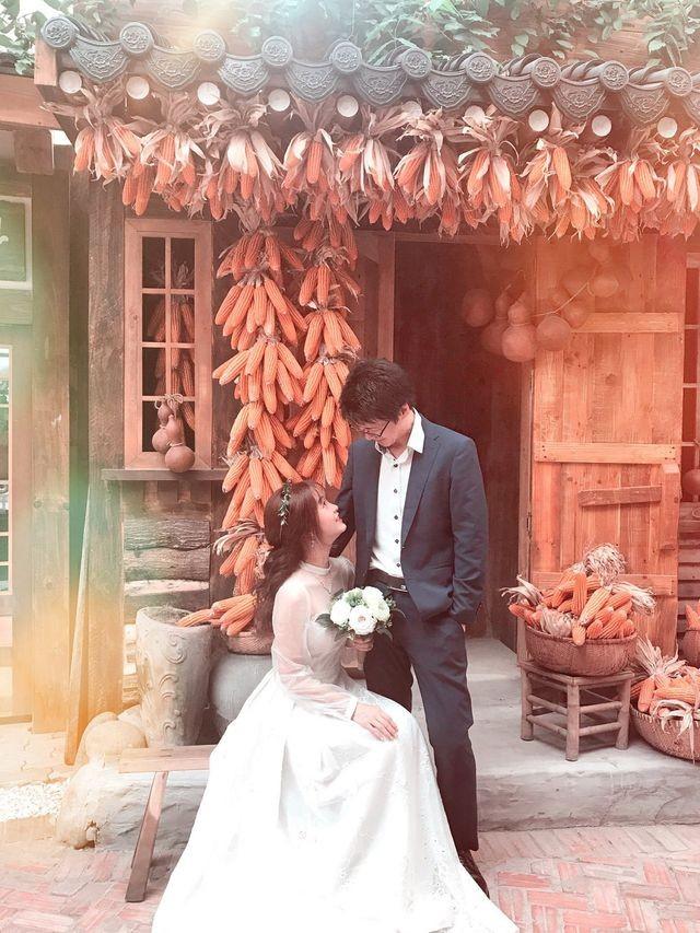 Cô gái xinh xắn dành 3 tháng tự tay may váy cưới gây 'sốt' mạng - ảnh 5