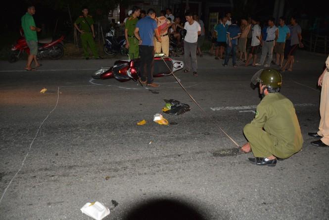Truy tìm tài xế ô tô bỏ trốn sau khi gây tai nạn 3 người bị thương  - ảnh 1