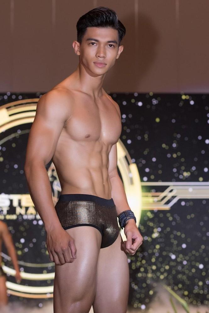 'Nhức mắt' với body chuẩn 6 múi của các thí sinh Mister Việt Nam 2019 - ảnh 14