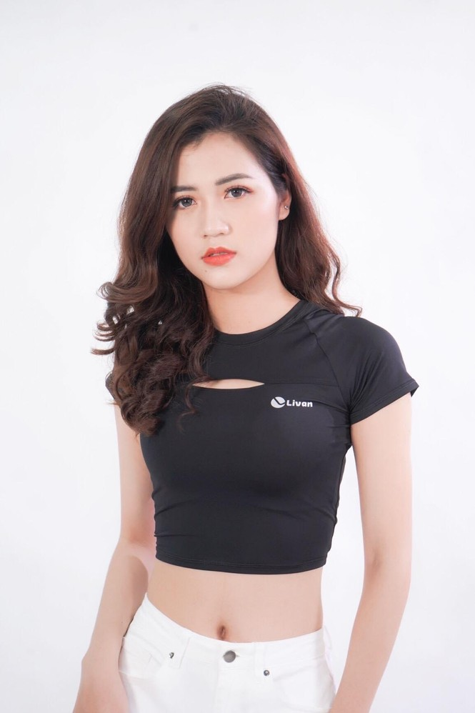 """Cô giáo """"hot girl"""" Minh Quỳnh:"""