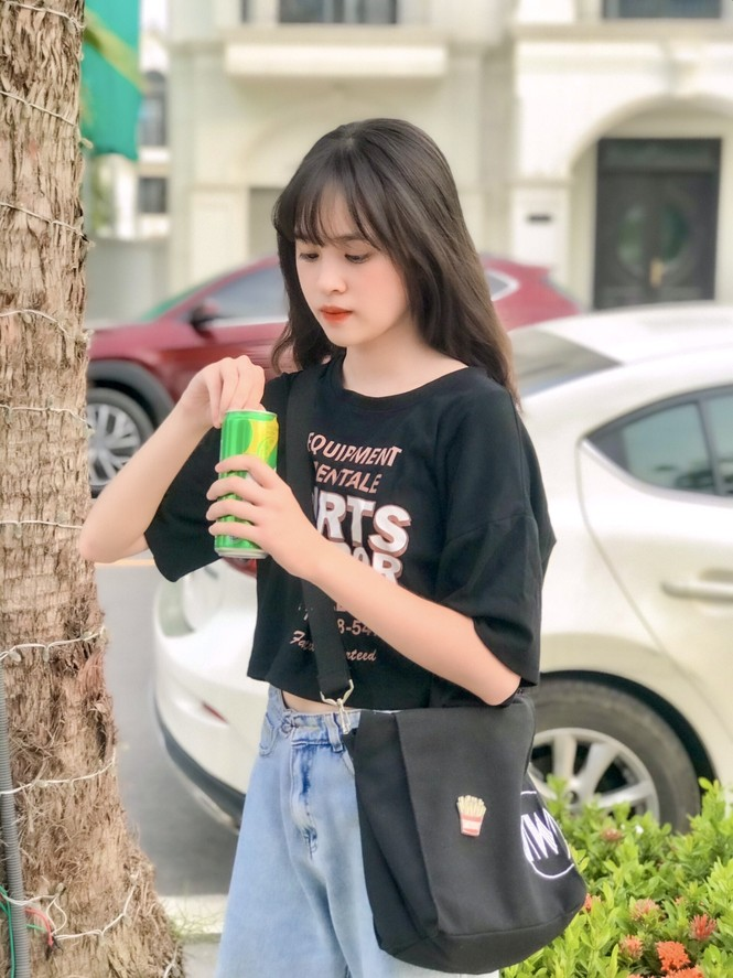 Nữ sinh Hà Thành xinh đẹp dịu dàng trong bộ ảnh tuổi 16 - ảnh 11