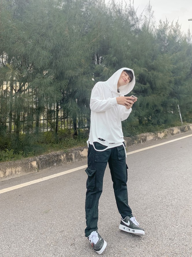 Chàng trai cao 1m75, quê ở Nghệ An hiếu học nổi danh trên mạng xã hội - ảnh 10