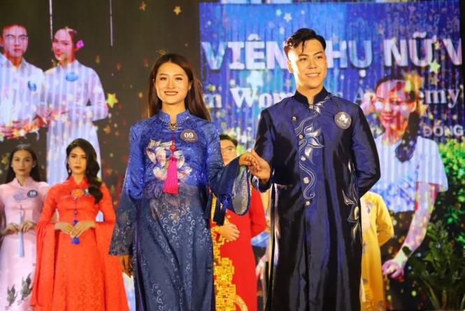 Chung kết cuộc thi Sinh viên thanh lịch Học viện Phụ nữ Việt Nam 2020 - ảnh 8