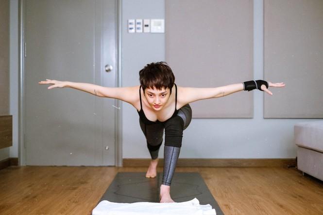 Yoga là bộ môn được sao Việt yêu thích nhất - ảnh 4