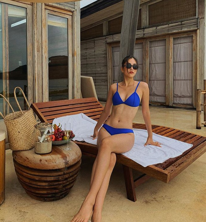 Không thể rời mắt khỏi dàn Hoa hậu khoe ngực đầy eo thon trong bikini nóng bỏng - ảnh 2