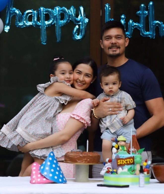 Gia đình mỹ nhân đẹp nhất Philippines hé lộ hình ảnh đời thường giản dị trong mùa dịch - ảnh 2
