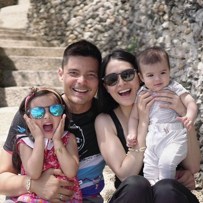Gia đình mỹ nhân đẹp nhất Philippines hé lộ hình ảnh đời thường giản dị trong mùa dịch - ảnh 1