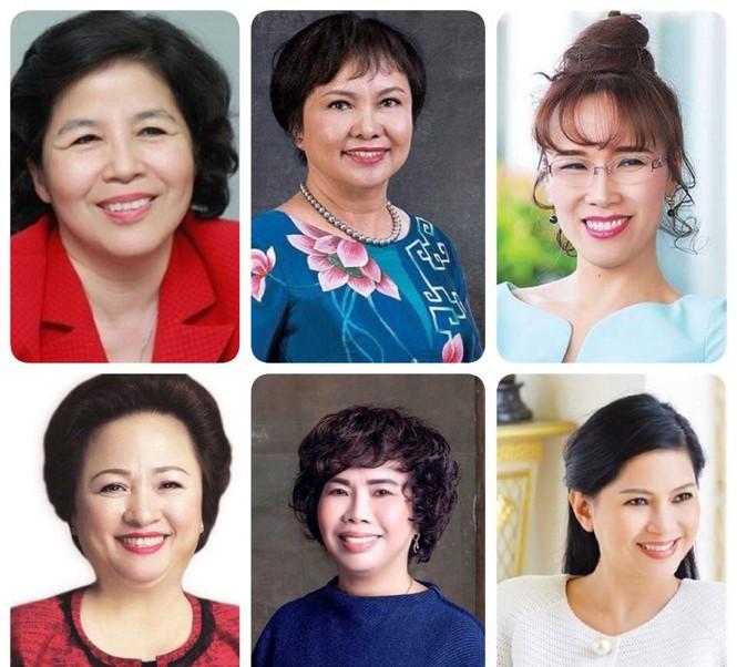 Chân dung những 'nữ tướng' doanh nhân ảnh hưởng nhất Việt Nam 2019 - ảnh 1
