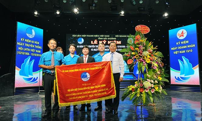 Khen thưởng doanh nhân trẻ tiêu biểu có thành tích trong công tác Hội - ảnh 3