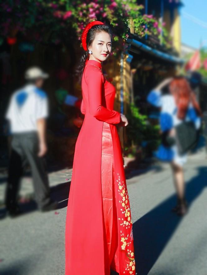 Thí sinh chung kết iMiss Thăng Long thả dáng trên phố Hội - ảnh 17
